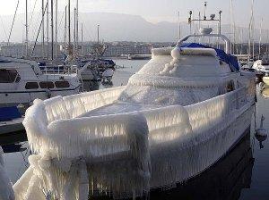 frozen-boat