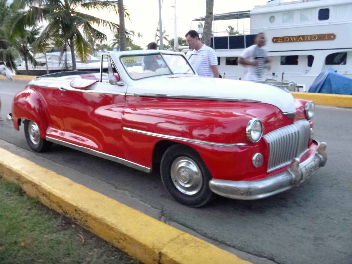 Guest Post:  First to Cuba